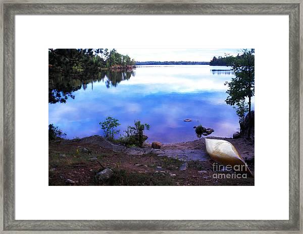 Campsite Serenity Framed Print