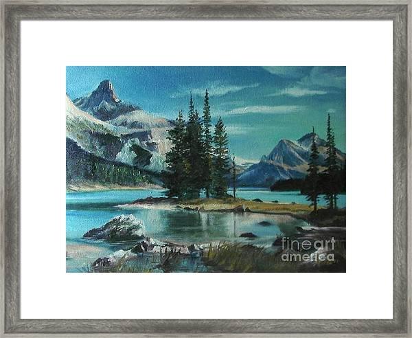 Canadian Landscape  Framed Print