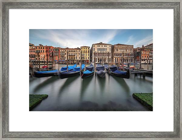 Canal Grande Framed Print
