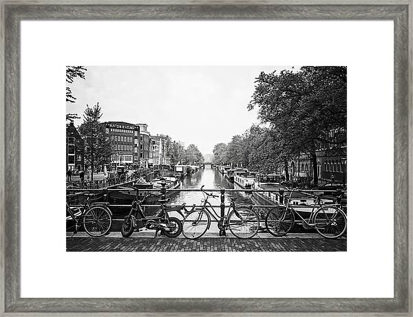 Canals Framed Print