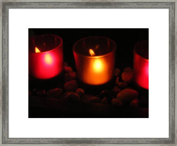 Candle Magick Framed Print