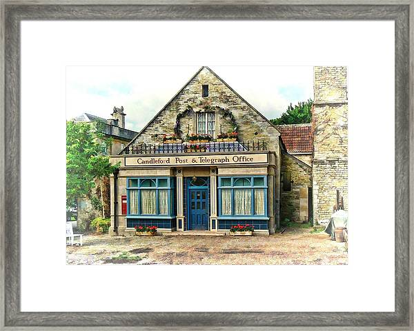 Candleford Post Office Framed Print