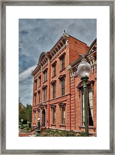 Canfield Casino 8802 Framed Print