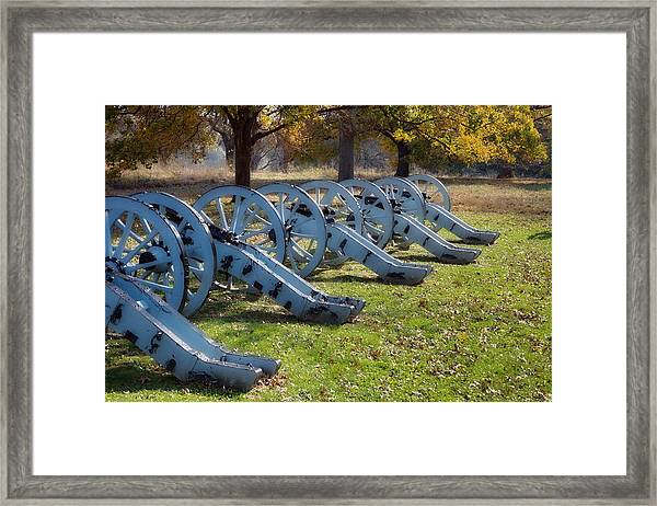 Canon Formation Framed Print