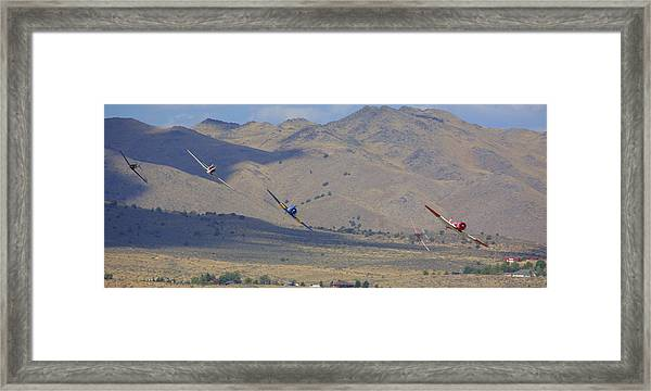 Can't Get Reno Off My Mind Framed Print by John King