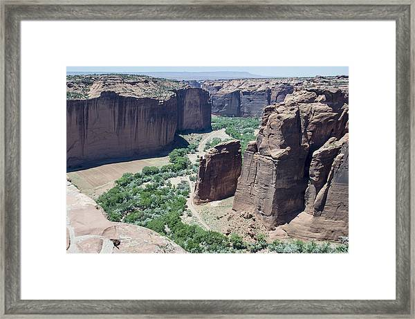 Canyon De Chelly View Framed Print