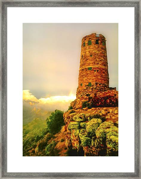 Canyon Gifts Framed Print