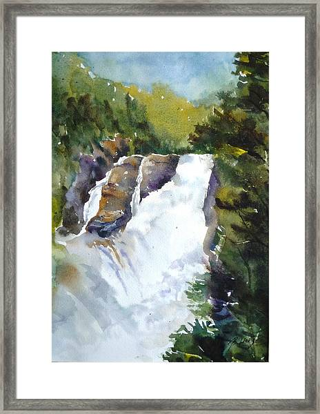 Canyon St. Anne -1 Framed Print