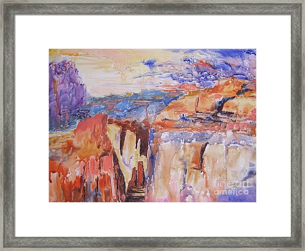 Canyon Suite Framed Print