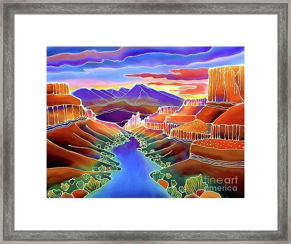 Canyon Sunrise Framed Print