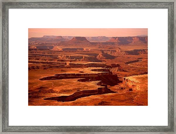 Canyonlands Utah Framed Print