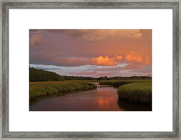 Cape Cod Bells Neck  Framed Print