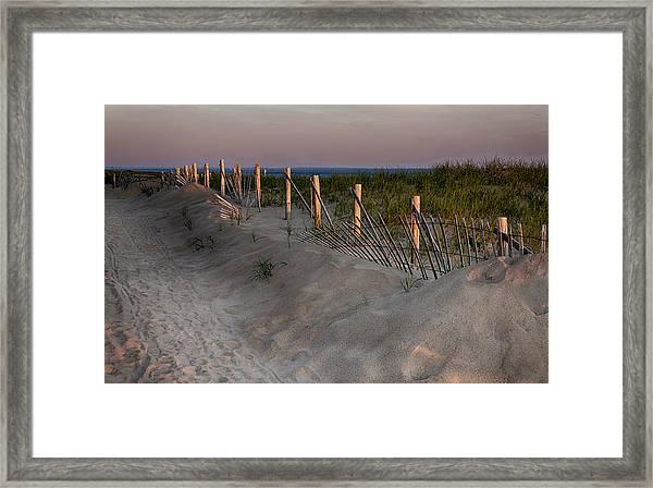 Cape Cod Dawn Framed Print