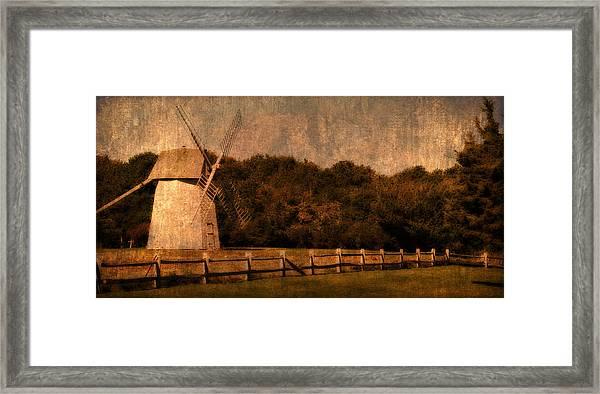 Cape Cod Windmill Framed Print
