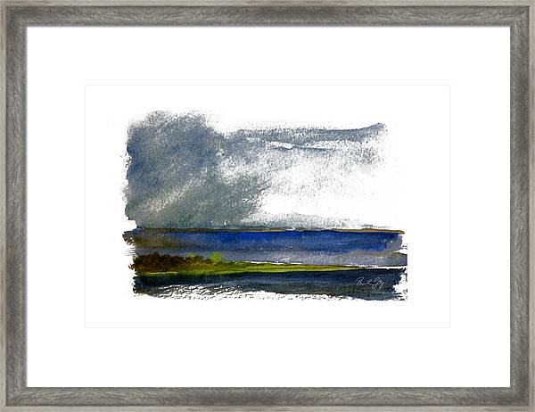 Cape Fear Squall Framed Print
