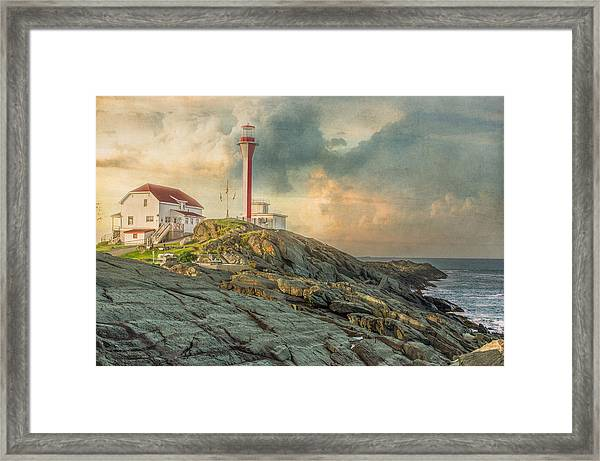 Cape Forchu  Framed Print