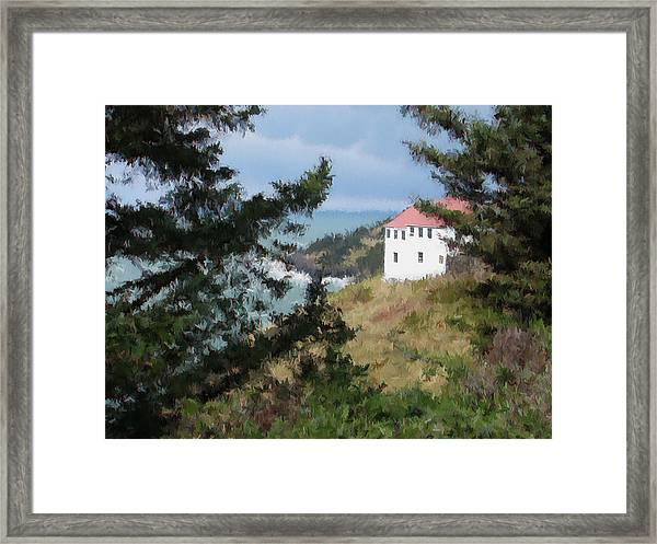 Cape Foulweather II Framed Print