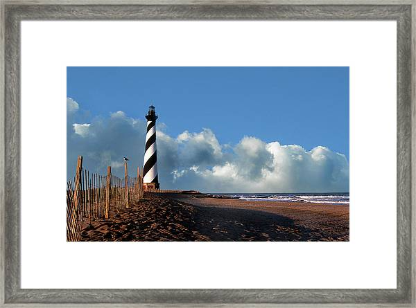 Cape Hatteras Lighthouse Nc Framed Print