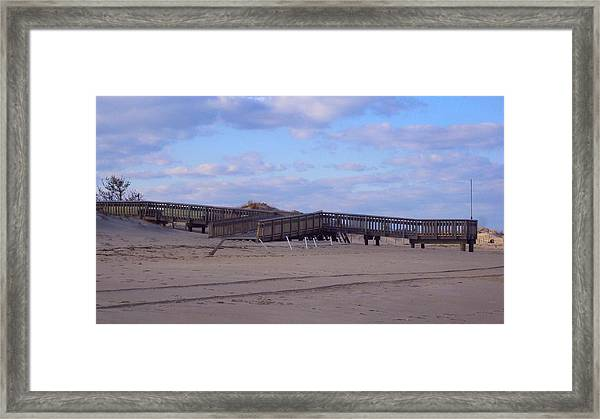 Cape Henlopen 9 Framed Print by Cynthia Harvey