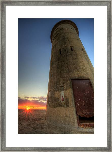 Cape Henlopen Tower Framed Print