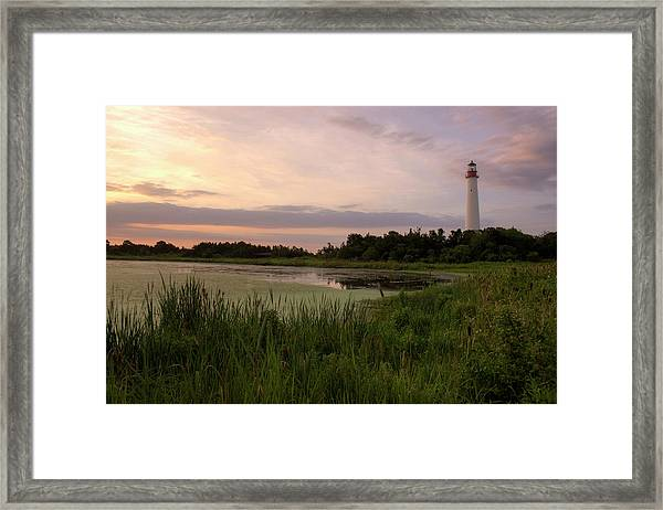 Cape May Lighthouse II Framed Print