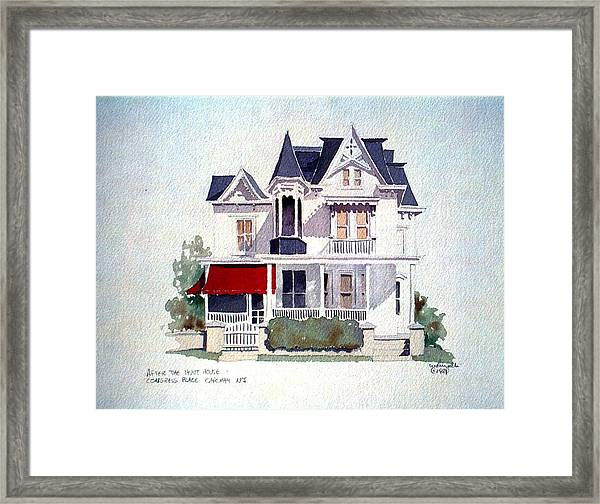 Cape May Victorian Framed Print