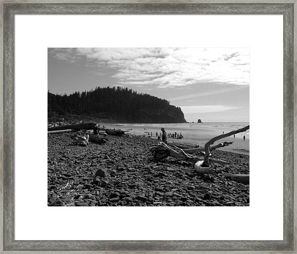 Cape Meares Framed Print