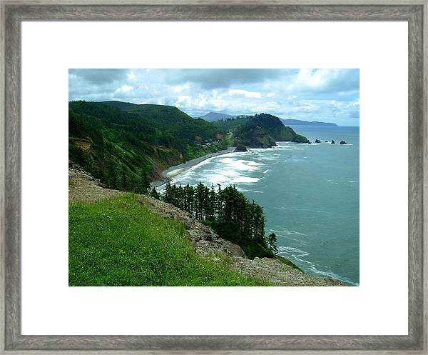 Cape Meares Framed Print