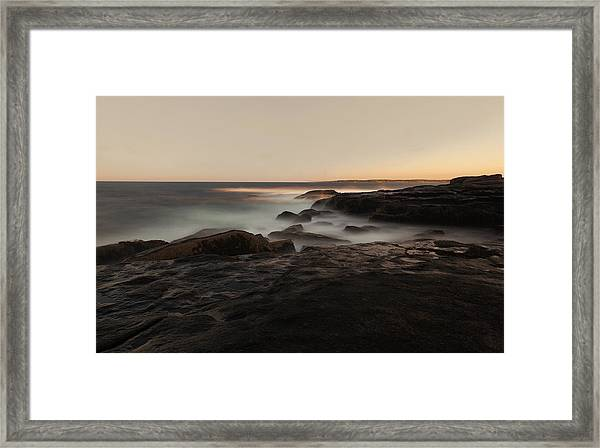 Cape Neddick Framed Print