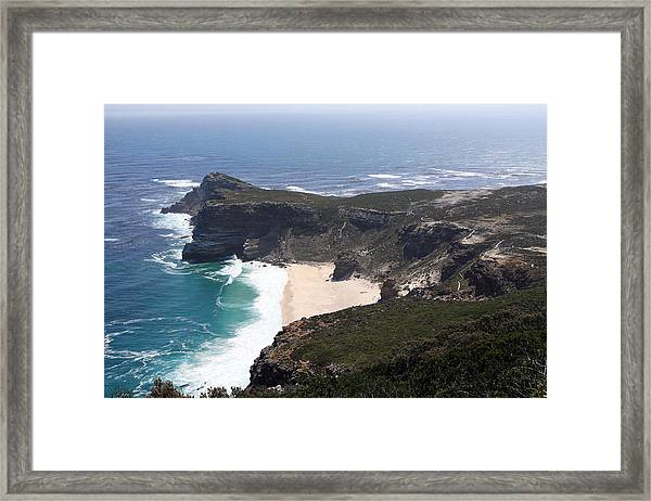 Cape Of Good Hope Coastline - South Africa Framed Print