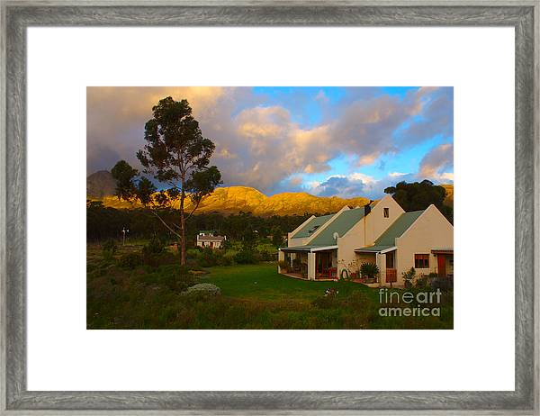 Cape Sunset Framed Print