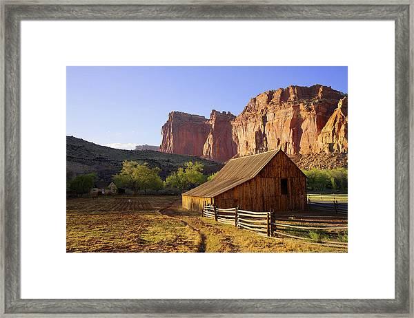 Capitol Barn Framed Print