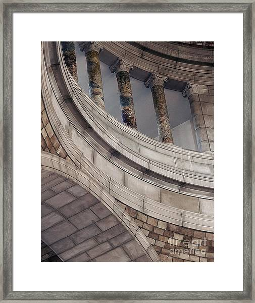 Capitol Curves Framed Print