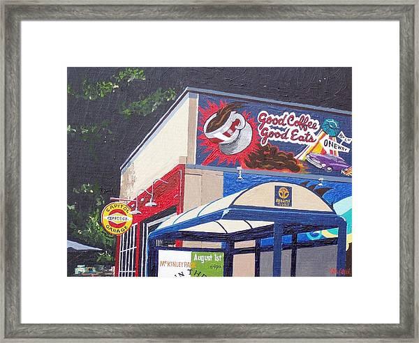 Capitol Garage Framed Print by Paul Guyer