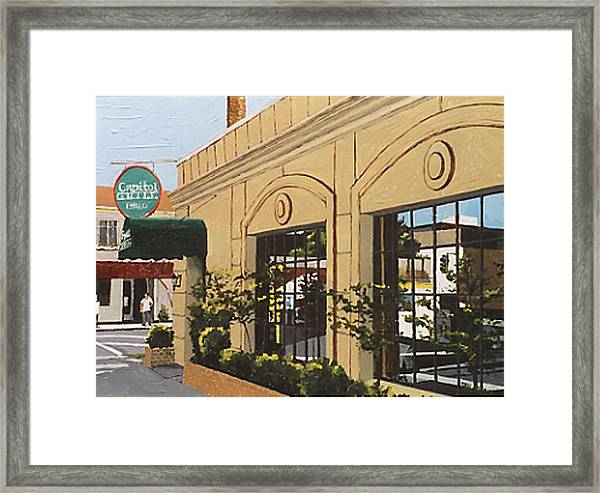 Capitol Grille Framed Print by Paul Guyer