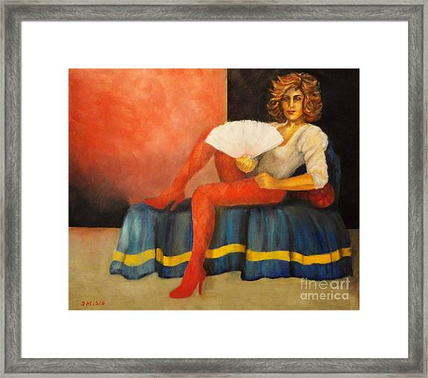 Capricious Luck II Framed Print