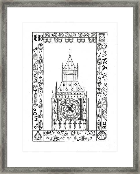 Capricious Time Framed Print