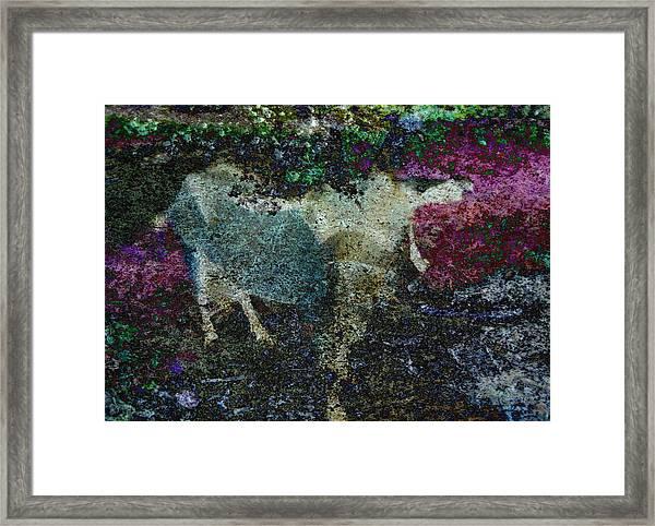 Capricorn Abstract Framed Print