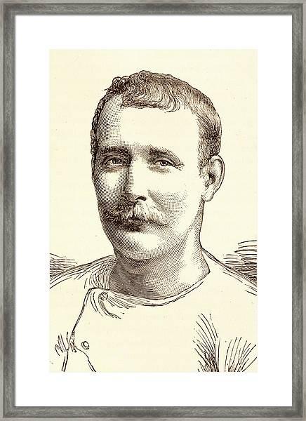 Captain Matthew Webb Framed Print