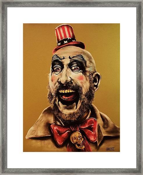 Captain Spalding Framed Print