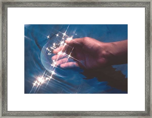 Capture Framed Print by Kellice Swaggerty