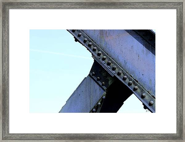 Carbonado Structure Framed Print by Stephen Prestek