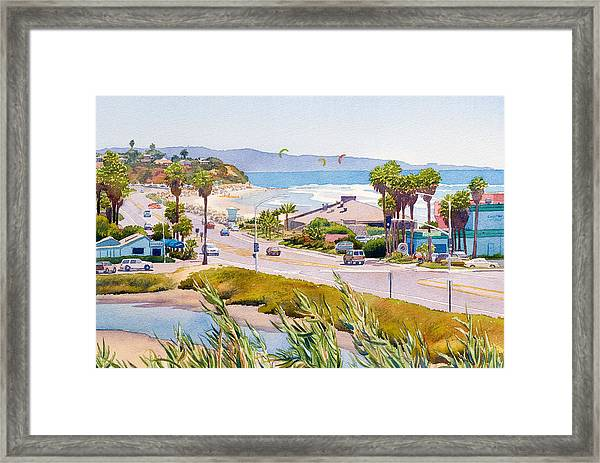 Cardiff Restaurant Row Framed Print