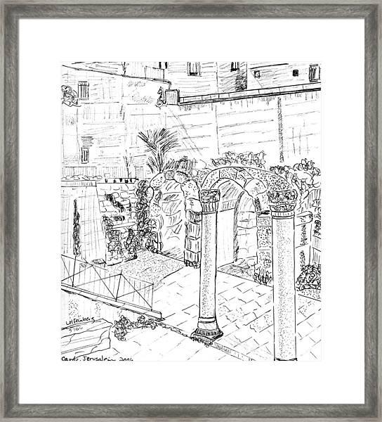 Cardo Framed Print