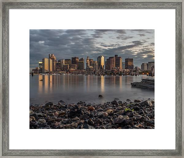 Carleton's Wharf Framed Print