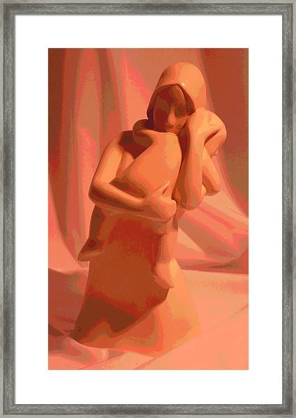 Framed Print featuring the photograph Caress by Gigi Dequanne