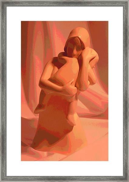 Caress Framed Print