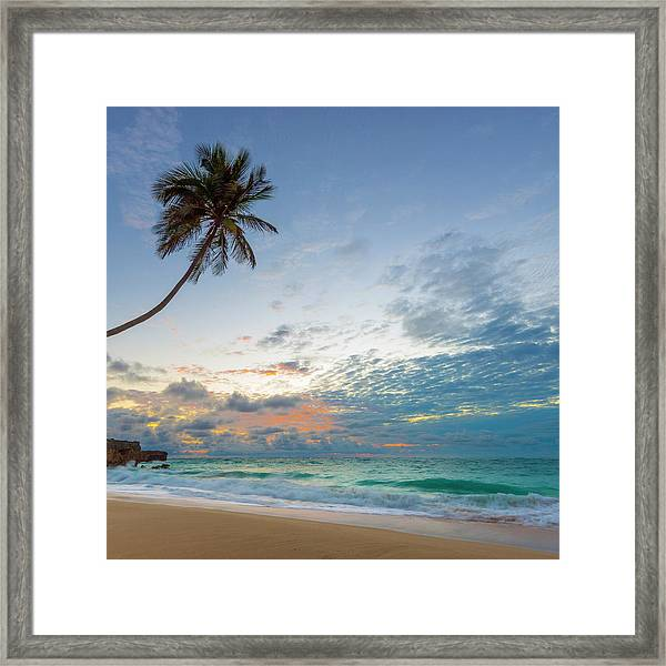 Caribbean, Barbados, Bottom Bay, Bottom Framed Print