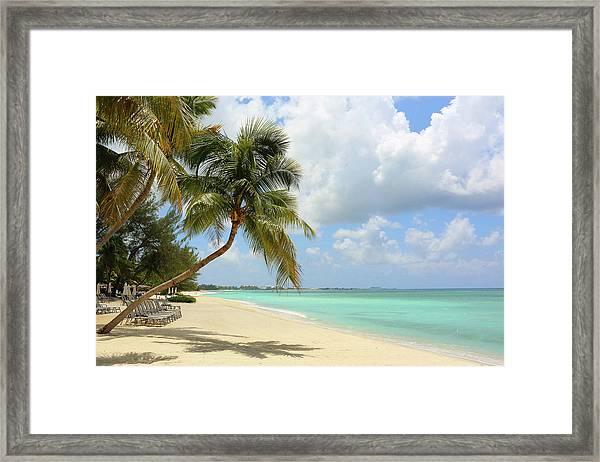 Caribbean Dream Beach Framed Print