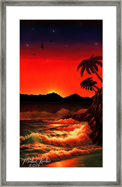 Caribbean Islands Framed Print